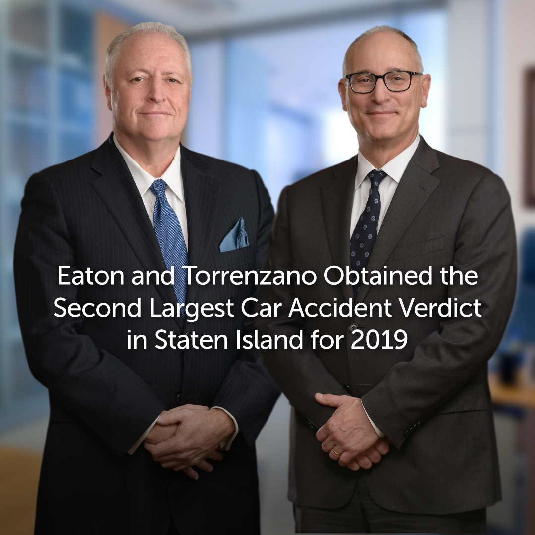 Second Largest Car Accident Verdict in Staten Island for 2019